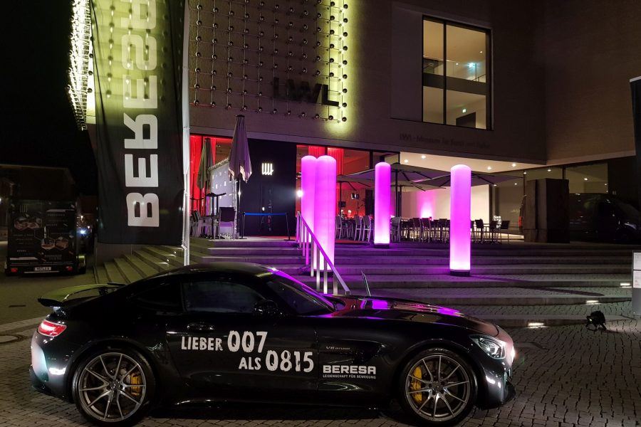 Lux James Bond Abend – Münster