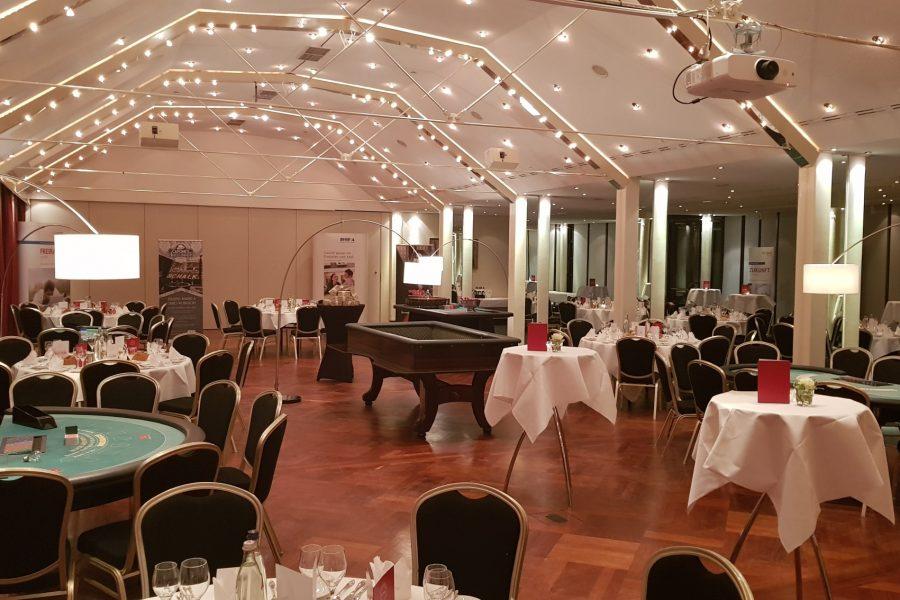 Premium Club der DSL Bank, Abendunterhaltung mit Casino Carré – Bamberg