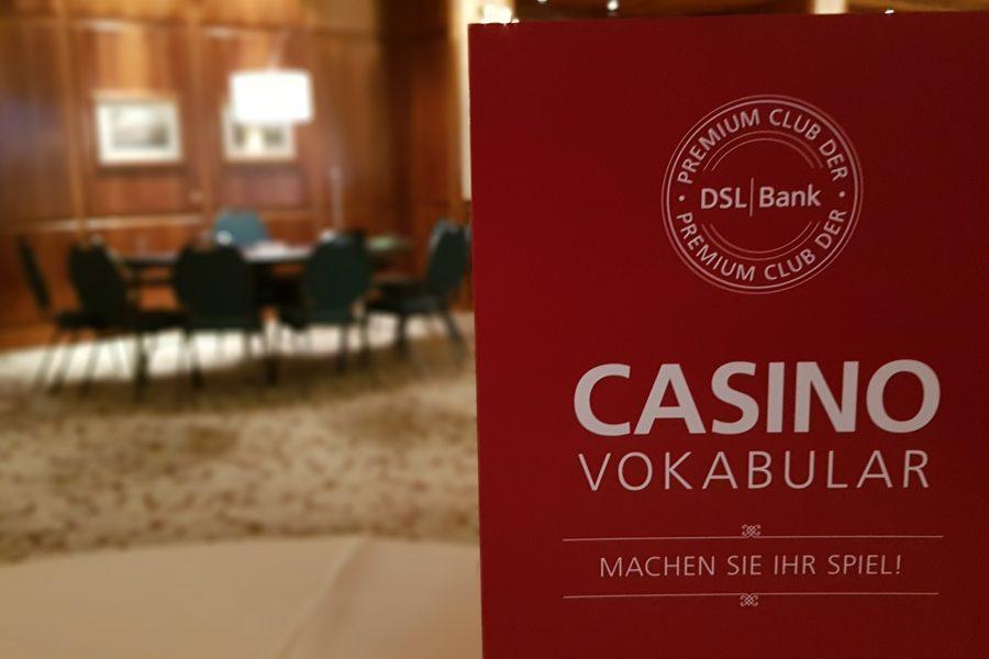 Premium Club der DSL Bank, Abendunterhaltung mit Casino Carré – Heidelberg