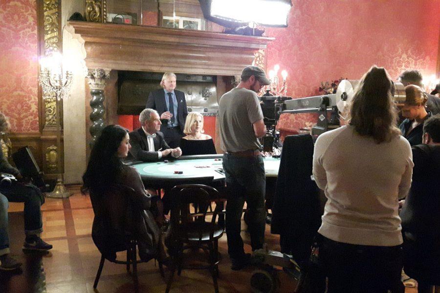 Klappe die 2. und Action, Zu Gast bei Dreharbeiten für ZDF – Düsseldorf
